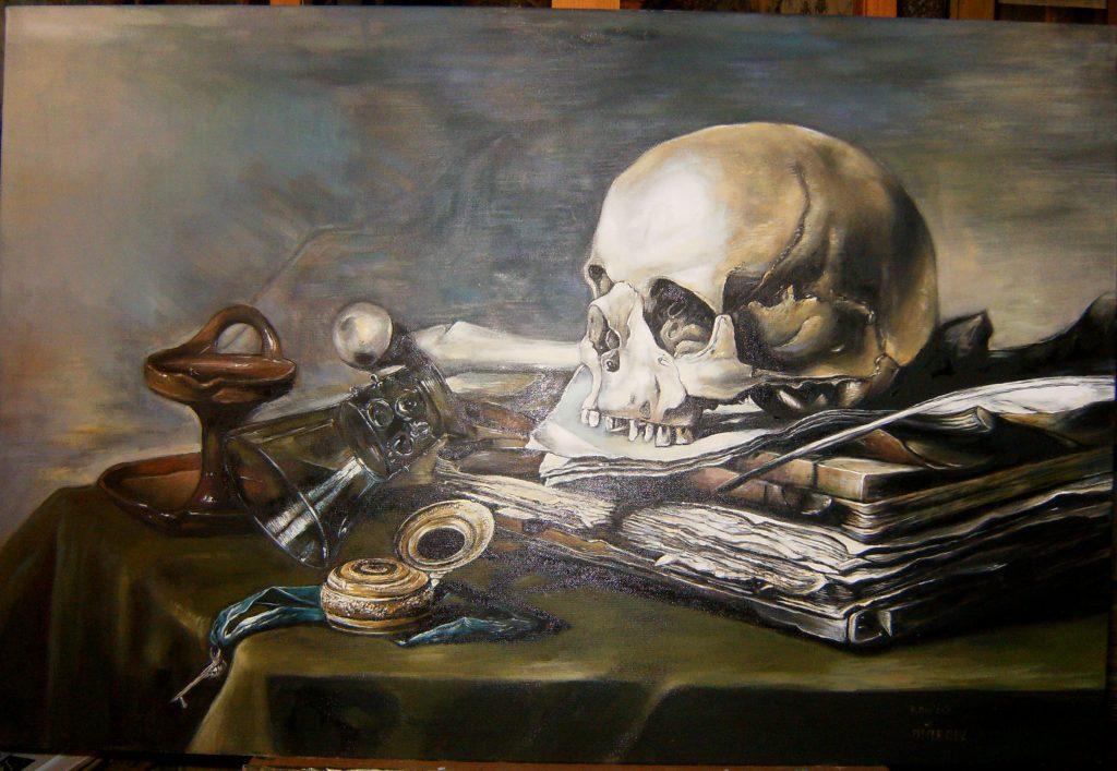 Kopia obrazu Willema Kalfa olej na płótnie format 50/70 cm